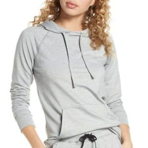 Tommy John Heathered Go Anywhere Hoodie Sweatshirt
